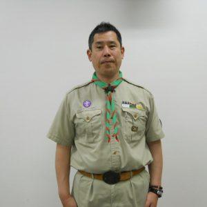 濱田義行地区コミッショナーの写真